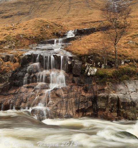 Glen Etive rapids