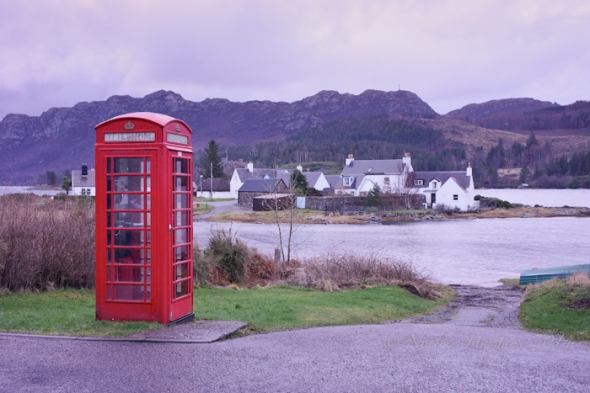 Plockton phone box